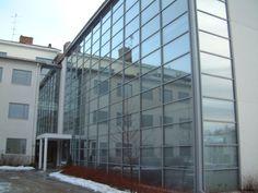 Suomen Yrittajaopisto Kauhava Louvre, Building, Travel, Furniture, Home Decor, Viajes, Decoration Home, Room Decor, Buildings