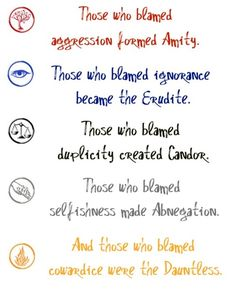 5 Factions...