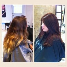 Colour change Color Change, Hairstyles, Colour, Long Hair Styles, Beauty, Haircuts, Beleza, Hairdos, Hair Styles