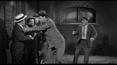 240. Moe Howard, Larry Fine, Shemp Howard, Sammy Stein (as Gorilla Watson), Heinie Conklin (as Watson's manager) | Fling in the Ring (1955) | Three Stooges short directed by Jules White