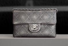 Chanel sliver clutch