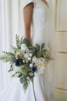 New Wedding Flowers Bouquet Peonies Dusty Miller Ideas Boquette Wedding, Wedding Ceremony Flowers, Rustic Wedding Flowers, Bridal Flowers, Floral Wedding, Wedding Decor, Dress Wedding, Wedding Blue, Wedding Ideas