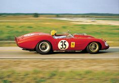 1962 Sebring - NART Ferrari Dino 246S Pedro Rodriguez, Bob Grossman and Alan Connell drove this NART Ferrari Dino 246 S at Sebring in 1962. They failed to finish due to oil pressure problems. Rodriguez was 22-years-old when he drove at Sebring but was already an experienced driver having started his racing career in motorcycles at the age of 13 and race cars, Ferrari, at the age of 15.
