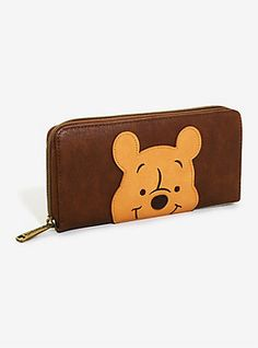 Loungefly Disney Winnie The Pooh Face Zip Wallet - BoxLunch Exclusive,