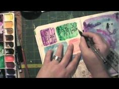 Art Journal Idea: Blocks of Color