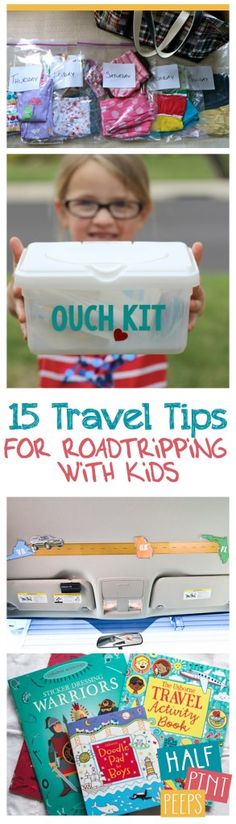 15 Travel Tips for Roadtripping with Kids