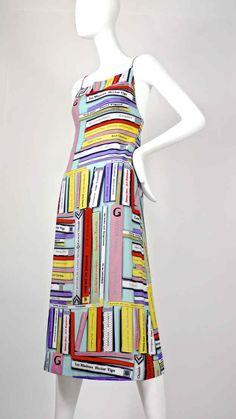 Vintage Book Dress by Jean Paul Gaultier