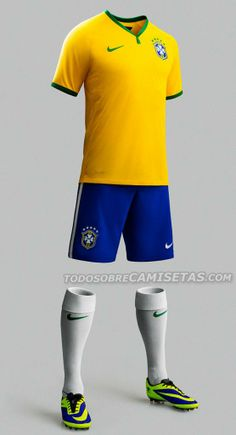2194bfe0f3  TodoSobreCamisetas OFICIAL  Camiseta  Nike de Brasil (Mundial 2014) vía   EleteTSC