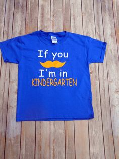 Kindergarten t-shirt-If you must know-First Day Of Kindergarten-Teacher-boys back to school shirt school-Elementary School - pinned by pin4etsy.com