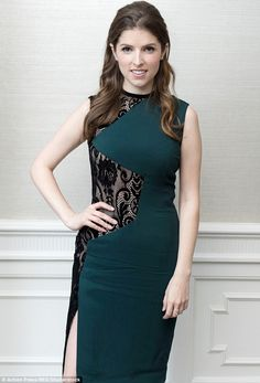 Beauty: Anna Kendrick stunned at a Trolls photocall with co-star Justin Timberlake in Los Angeles Read more: http://www.dailymail.co.uk/tvshowbiz/article-3764093/So-sophisticated-Anna-Kendrick-stuns-emerald-green-lace-panelled-dress-Trolls-photocall-star-Justin-Timberlake.html#ixzz4IqVaXhJh Follow us: @MailOnline on Twitter | DailyMail on Facebook