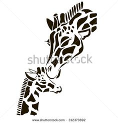 Find giraffe vector stock images in HD and millions of other royalty-free stock photos, illustrations and vectors in the Shutterstock collection. Giraffe Drawing, Giraffe Art, Animal Stencil, Stencil Painting, Wood Burning Patterns, Wood Burning Art, Giraffe Silhouette, Giraffe Tattoos, Scroll Saw Patterns