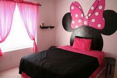 Minnie Mouse little girl's bedroom