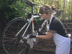 How To: Clean your Bike. Jenni from the London Bike Kitchen presents our bike maintenance series in association with Juice Lubes, with our first video installment showing you how to clean your bike.