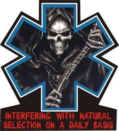EMT Tattoos | INTERFERING EMS REAPER