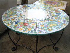 10 best Tavoli in Ceramica Vietrese images on Pinterest