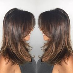 30 Cute Daily Medium Hairstyles 2018 – Easy Shoulder Length Hair Ideas – Hair – Hair is craft Medium Hair Cuts, Short Hair Cuts, Layered Haircuts For Medium Hair With Bangs, Medium Length Hair With Layers And Side Bangs, Long Layered Hair With Side Bangs, Layered Haircuts Shoulder Length, Edgy Short Haircuts, Medium Layered Haircuts, Brown Mid Length Hair