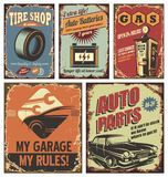 Vintage Car Metal Signs And Posters - Download From Over 49 Million High Quality Stock Photos, Images, Vectors. Sign up for FREE today. Image: 27717738