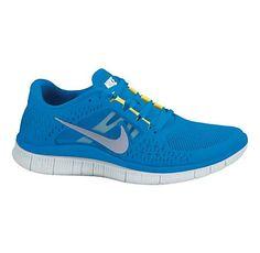 Nike Free Run + 3 - Men's - Running - Shoes - Black/Bright Crimson Free Running Shoes, Nike Free Shoes, Black Running Shoes, Nike Running, Nike Free Run 2, Nike Free Runners, Nike Jogging, Nike Air Max, Zapatos