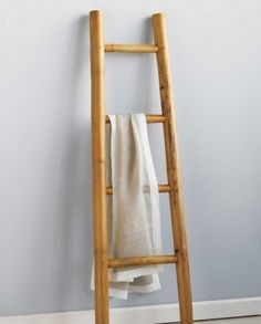 I need a ladder cum towel rack like that.
