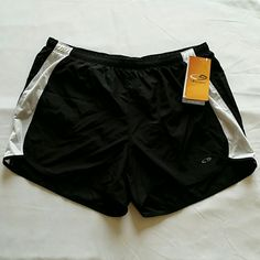 NWT Champion running shorts Black Champion running shorts with Duo Dry liner and inside pocket for key. Medium Champion Shorts