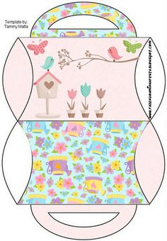 Dicas pra Festas Infantis: Kit de festa Personalizado com tema Jardim Encanta...