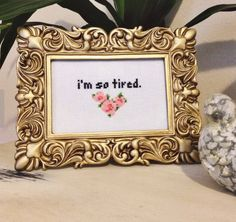 This cross stitch that describes your mood 24/7. | Community Post: 16 Quirky Items For People Who Don't Do Mornings