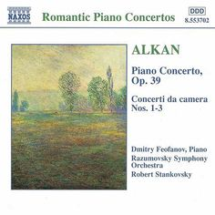 Complete Works for Piano and Orchestra de Charles-Valentin Alkan