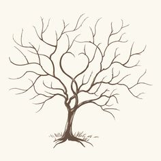 I keep a guestbook in my guest room - love reading what people say.  Let's turn it into artwork - thumbprint tree?