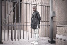 """Profound Aesthetic """"In Far Off Places"""" Pre-Spring 2016 Lookbook featuring Ade Oyeyemi. profoundco.com"""