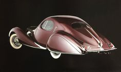 Talbot Lago T 150C SS Figoni & Falaschi 1938