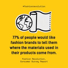 Everything you need to know about getting involved in Fashion Revolution Week Big Fashion, Slow Fashion, Ethical Fashion, All About Fashion, Fashion Brands, Ethical Companies, Consumer Survey, Carbon Footprint, How To Take Photos