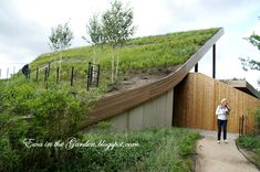 Ewa in the Garden: 8 photos of most impressive green roof building at Floriade 2012