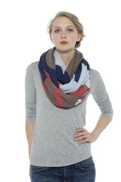 Snow Gum Scarf - Navy Blue | Nancybird Navy Blue, Snow, Style, Fashion, Swag, Moda, Fashion Styles, Fasion, Eyes
