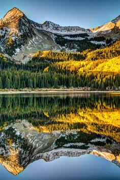 Awesome Fall Color, Lost Lake  Colorado