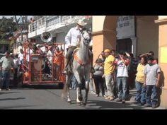▶ Cabalgata y baile de caballos de día de reyes coatlan del rio 2013 - YouTube
