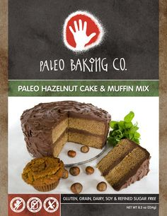 For a limited time a NEW LOW PRICE on Paleo Hazelnut Cake & Muffin Mix AND 25% off all orders thru Friday, May 31st! Holy cats!