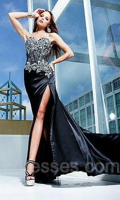 Black & sparkles