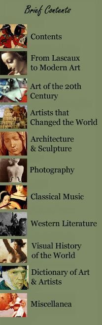 Art History Web Site - good notes
