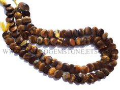 Gemstone Beads, Tiger Eye Smooth Disc (Quality B) / 11.5 to 13 mm / 36 cm / TI-052 by beadsogemstone on Etsy #tigereyebeads #discbeads #gemstonebeads #semipreciousstones #semipreciousbeads #briolettes #jewelrymaking #craftsupplies #beadsofgemstone #stones #beads