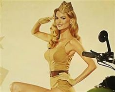 1940s Army Pin Up Girls - Bing images