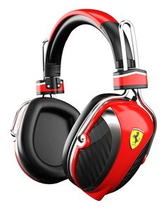 Scuderia Ferrari headphones £199.