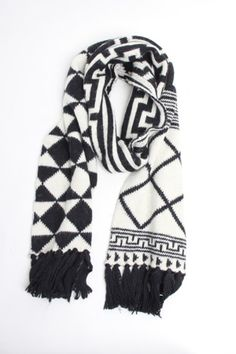 Love this - african chunky muffler