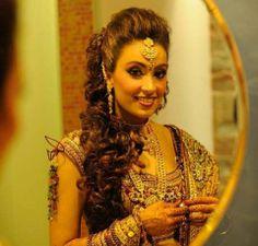 Indian bridal  hair www.weddingsonline.in
