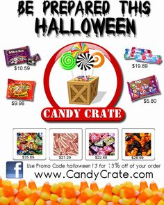 Candy Crate : Do you have what it takes to host a Spooktacular Halloween?