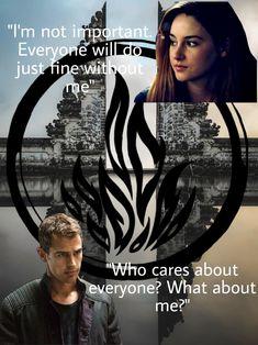 Disney Divergent, Divergent Memes, Divergent Fandom, Insurgent Quotes, Divergent Trilogy, Divergent Insurgent Allegiant, Tfios, Tv Show Quotes, Book Quotes