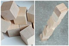 Unfinished Wood Blocks- 46 % off!  There are endless ideas of what you can do with plain wood blocks. Check out Pick Your Plum's Pinterest board: https://www.pinterest.com/pickyourplum/wood-block-ideas/