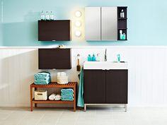 IKEA vanity for bathroom Decor, Bathroom Furnishings, Ikea Bathroom Sinks, Small Bathroom, Bathroom Colors, Bath Towels Luxury, Ikea Bathroom Accessories, Ikea Bathroom, Bathroom Decor