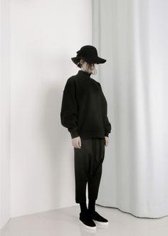 Minimanimo F/W 15 Sweatshirts Black