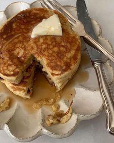 food, pancakes, and breakfast image Cute Food, I Love Food, Good Food, Yummy Food, Food Porn, Food Goals, Aesthetic Food, Food Cravings, Delish