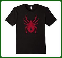 Mens Black Widow Spider Distressed Graphic T-shirt Large Black - Animal shirts (*Amazon Partner-Link)